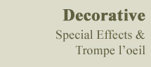 Decorative Special Effects & Trompe l'oeil