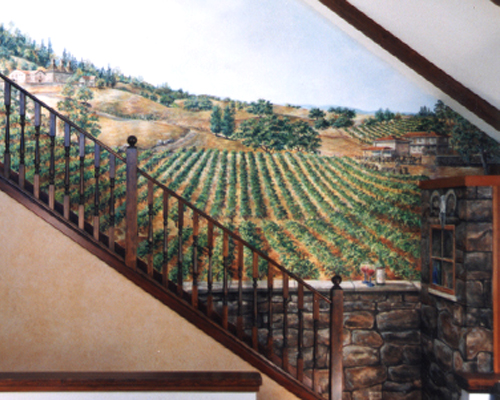 Sonoma Stairs